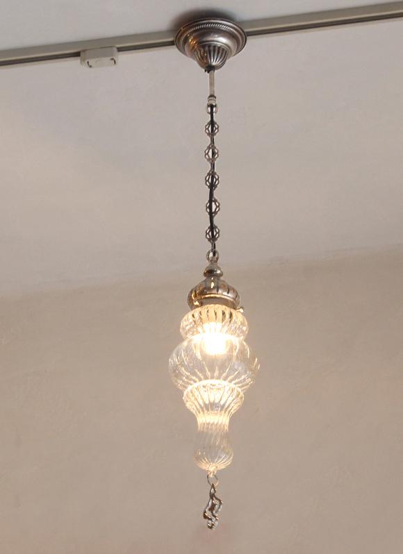オットマンクラシックガラスシェードランプ・ペンダントライト・ペンダントランプ1灯/Ottoman Classic Traditional Turkish Lamp  lphopoy20