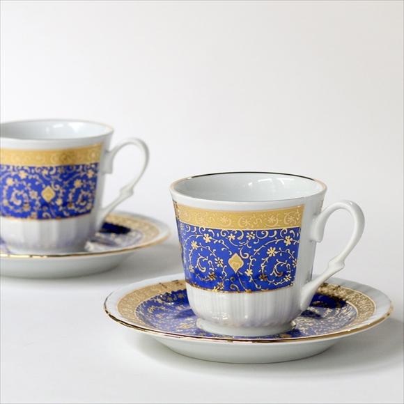 トルココーヒーカップ&ソーサー6客セット