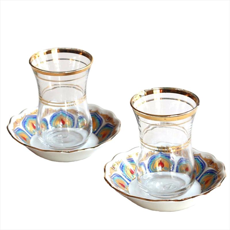 チャイグラス(チャイバルダック)2客セット